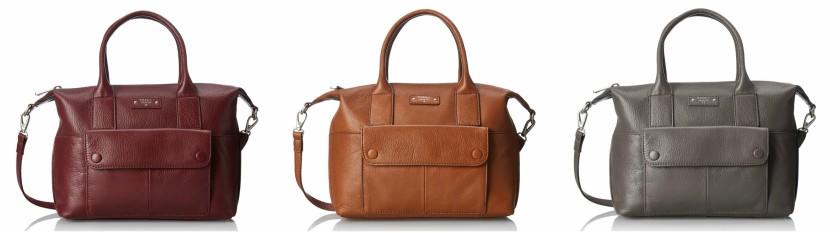 Fossil Blake Satchel Shoulder Bag $69-86 (reg $248)