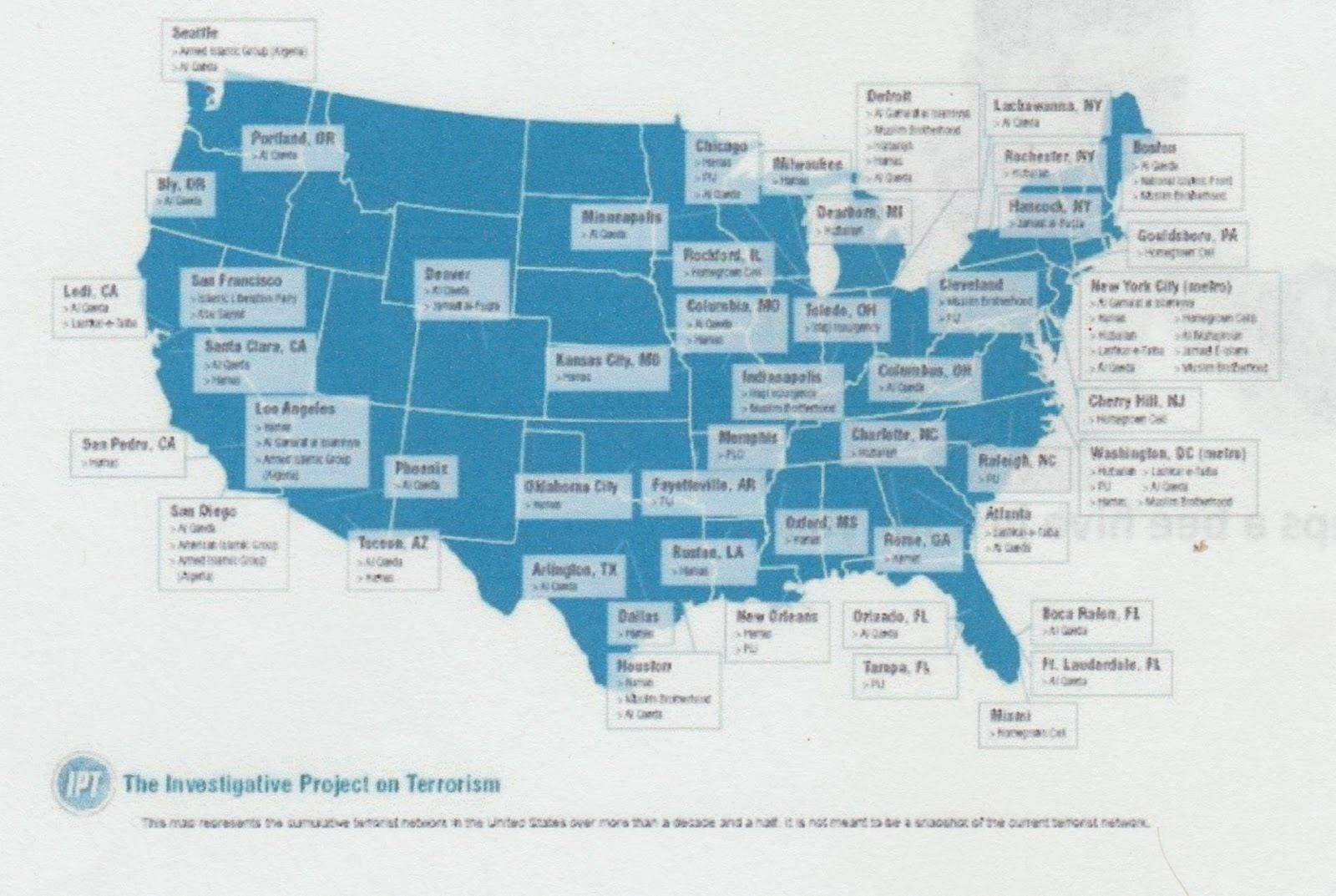 the terrorist network in america