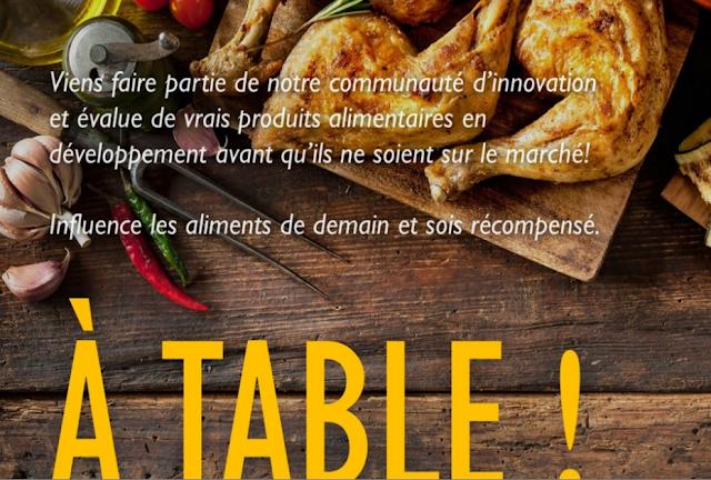 incubateur de produits alimentaires À Table INBE