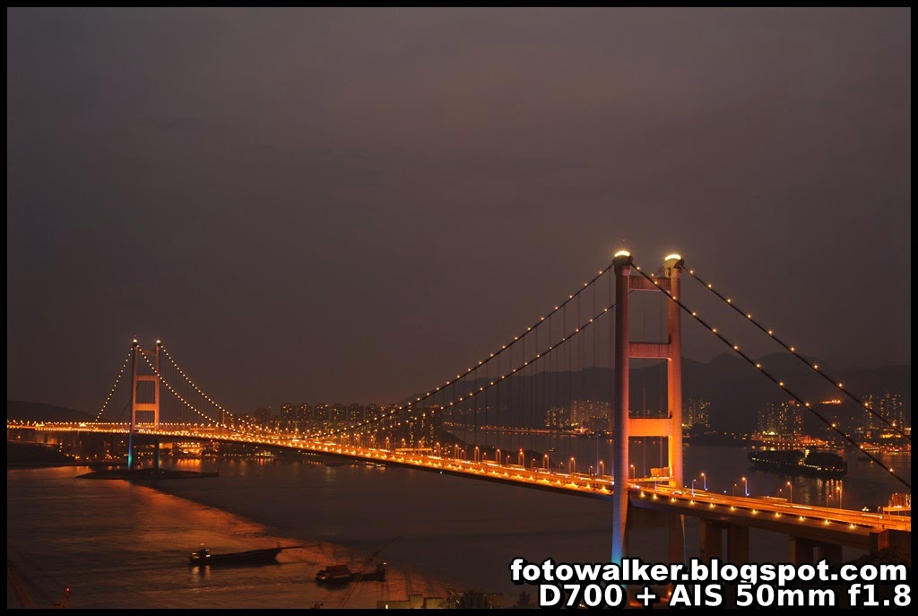 Foto Walker: 青馬大橋@青衣青欣山 (Tsing Ma Bridge@Tsing Yan Shan. Tsing Yi)