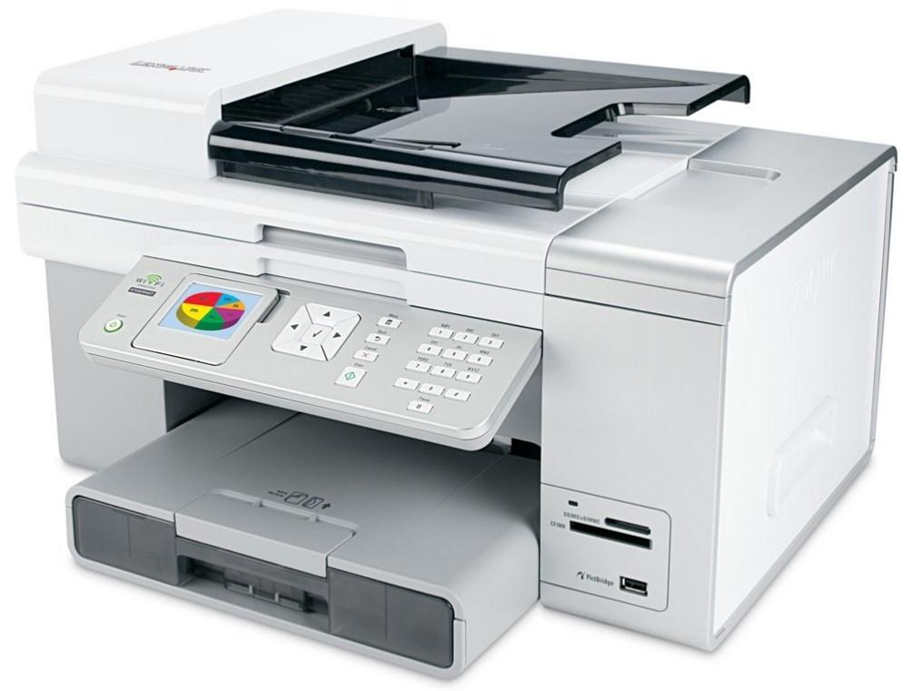 Lexmark 4600 series scan problem