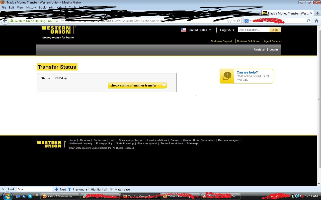 Westrn Union Transfer And Bank Logins Proofs | Western Union Bug And