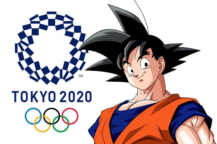 Goku Es El Embajador De Los Juegos Olimpicos De Tokyo 2020 Dragon