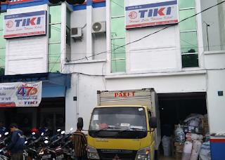 Alamat agen TIKI di Cirebon.