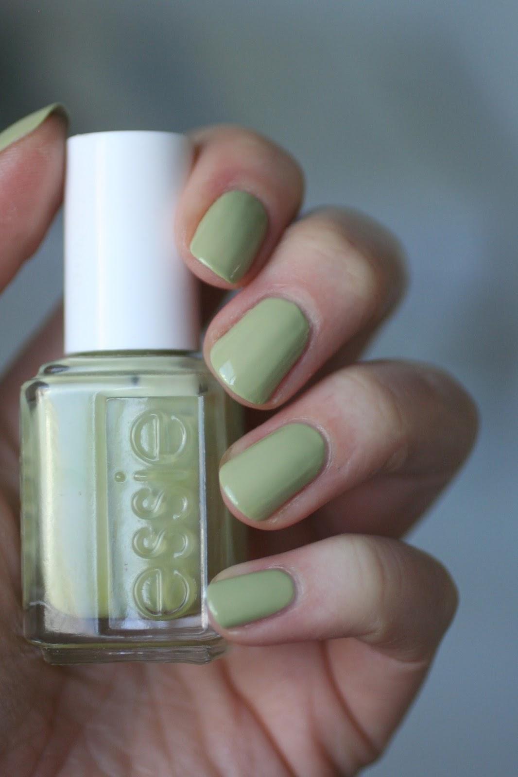 Essie Lime Green Comparison: Chillato, Navigate Her, Vibrant Vibes ...