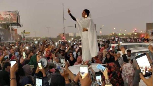 ايقونة الثورة في السودان