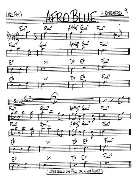 Partitura Trombón Santa Maria