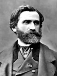 Giuseppe Verdi - a photograph taken in 1850
