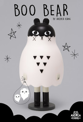 Boo Bear Vinyl Figure by Andrea Kang x Mighty Jaxx