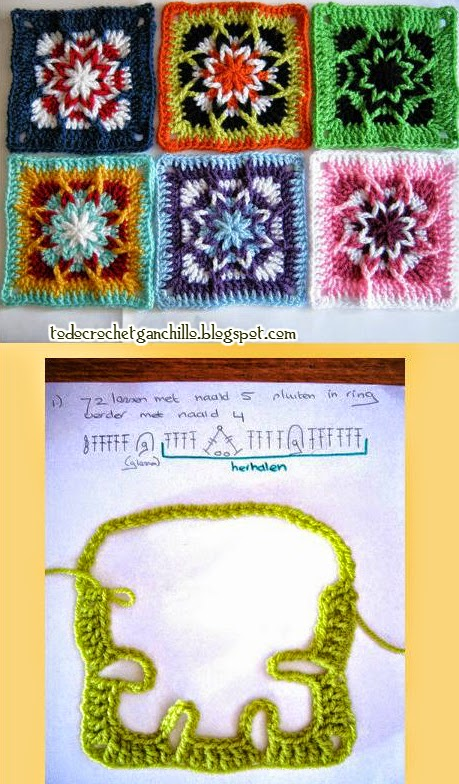 grannys crochet *afganos*