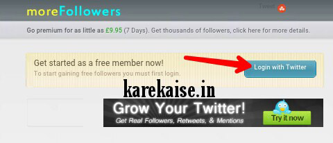 twitter par follower increase kare