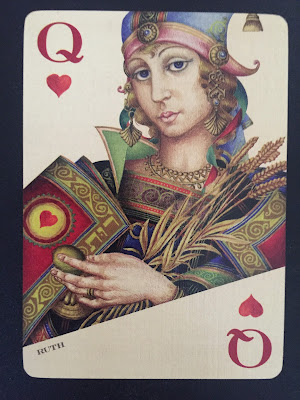 Ruth as the Queen of Diamonds