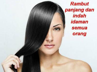 tips cara cepat memanjangkan rambut