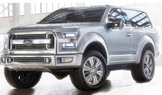 2019 Concept Ford Bronco et rumeurs sur les spécifications