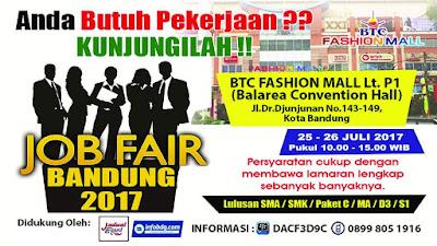 Job Fair Bandung Bulan Juli