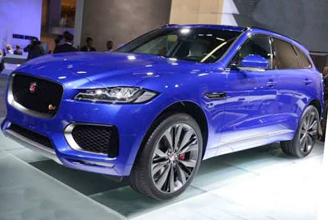 2019 Jaguar F-Pace SVR Spy Shots