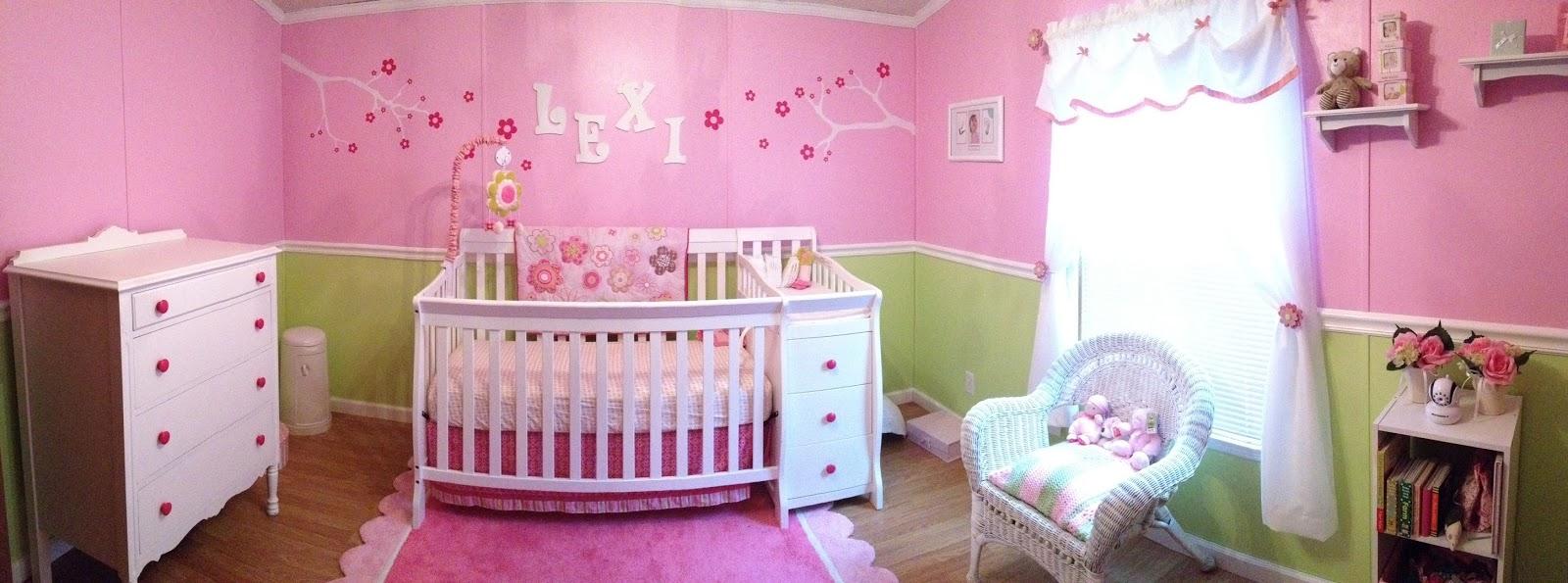 peinture chambre b b fille rose et vert b b et d coration chambre b b sant b b beau. Black Bedroom Furniture Sets. Home Design Ideas