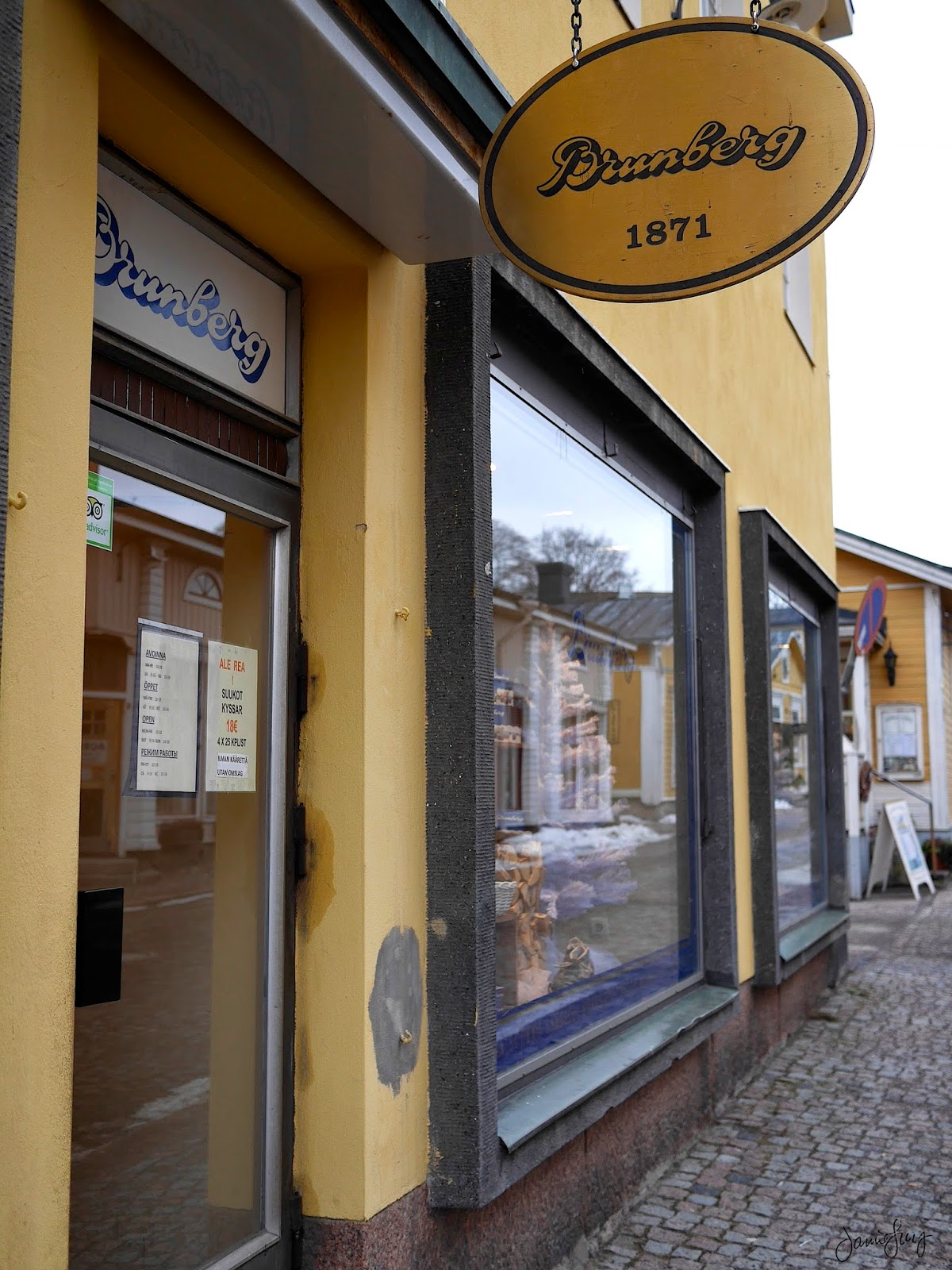 Brunberg Chocolates in Porvoo, Finland