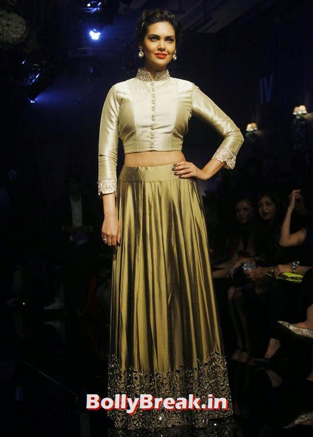 Esha Gupta, LFW 2014 Pics  - Lakme Fashion Week 2014 Photo Gallery