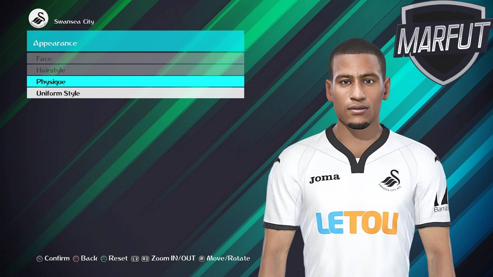 PES 2018 L. NARSINGH Face by Facemaker VN HUY BUI