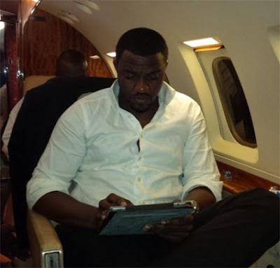 john dumelo private jet