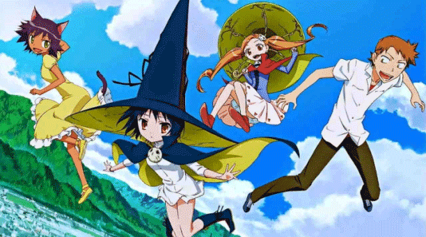 Majimoji Rurumo - Daftar Anime Fantasy School Terbaik