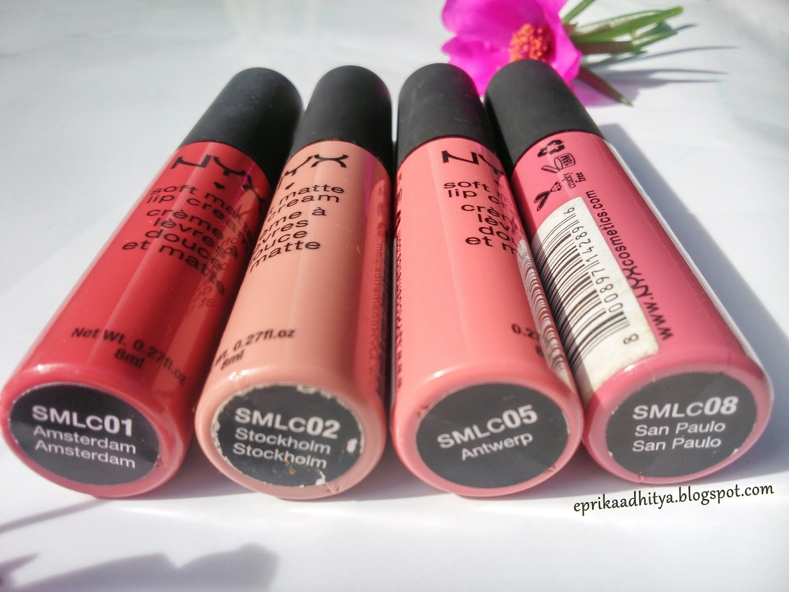Promo Ecer Nyx Matte Me Lip Lipstik Update Warna Cream San Paulo Review Soft Thousands Of Miracles