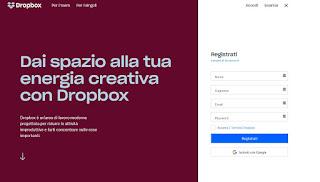 Servizio Dropbox