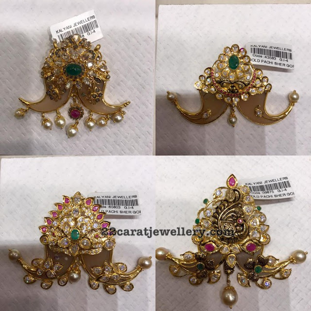 Tiger Nail Pendants from Kalyani Jewellers