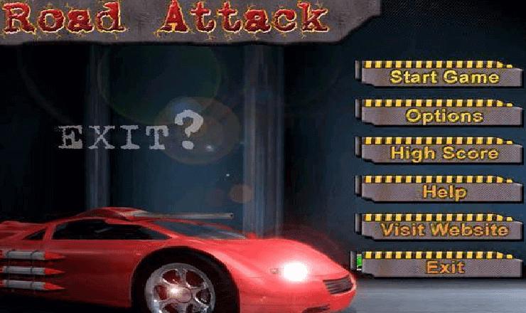 تحميل لعبة road attack للكمبيوتر برابط مباشر
