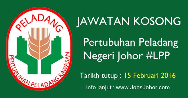 Jawatan Kosong Pertubuhan Peladang Negeri Johor 2016