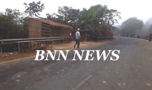 दुर्घटना स्थल बन रहा सोईली पूल का तिकोना मोड़