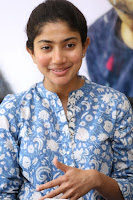 Sai Pallavi looks super cute in plain dress at her interview in Telugu about movie Fidaa ~ Exclusive Celebrities Galleries 016.JPG