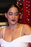 Mumaith Khan Spicy pics in Deep Neck White Gown at Zee Telugu Apsara Awards 2017 09.JPG