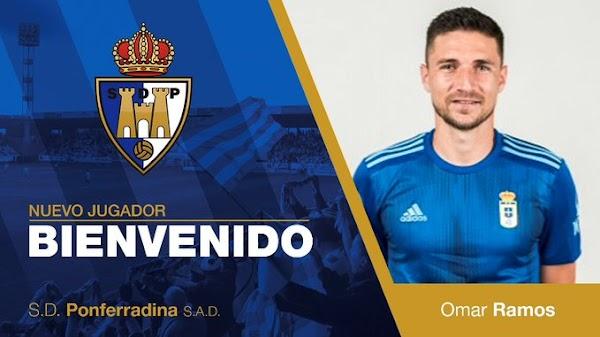Oficial: La Ponferradina ficha a Omar Ramos