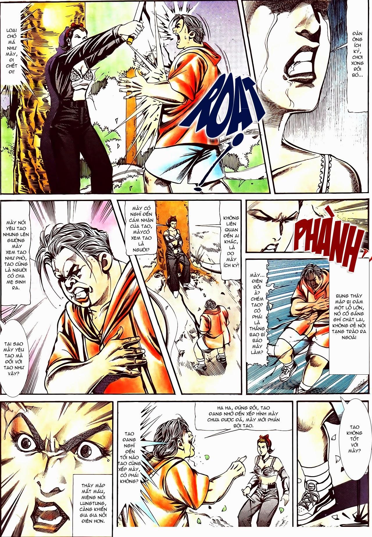 Người Trong Giang Hồ chapter 116: bình minh ló dạng ái tình tan vỡ trang 17