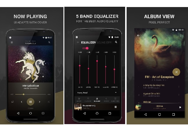Black Player - Ένας εντυπωσιακός music player για Android smartphones
