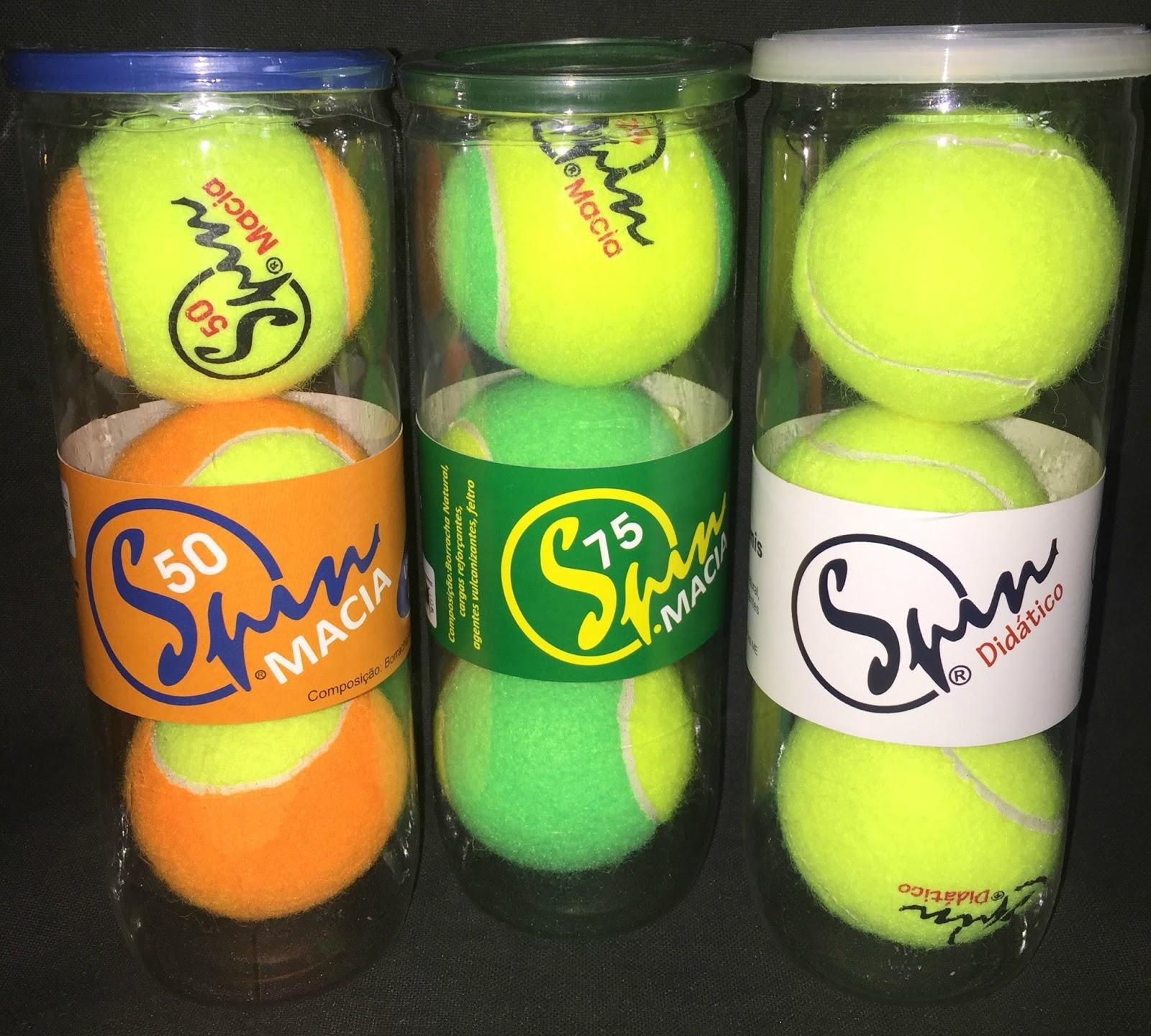 0ca09583108 Embalagem pressurisada c  3 bolas de tênis SPINDidático
