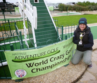 Emily Gottfried at the World Crazy Golf Championships