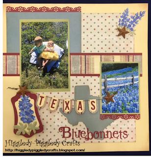 Higgledy piggledy crafts texas bluebonnets for Craft store destin fl