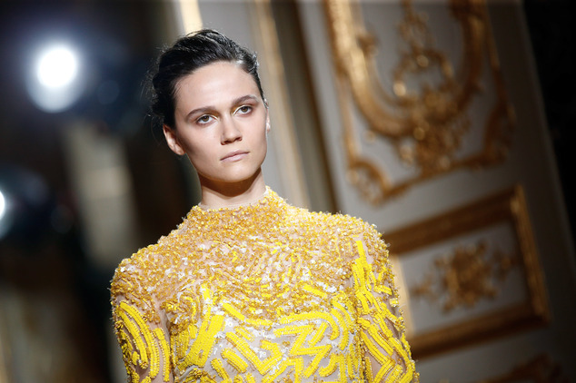 Haute Couture Fall-Winter 2016-2017 fashion collection for J.Mendel