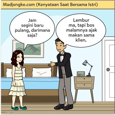 kenyataan bersama istri