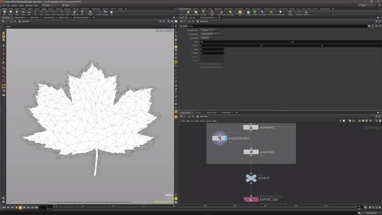 Generating Geometry Procedurally from Megascans in Houdini