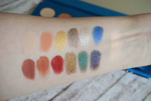 [Review] Coloured Raine - Cheers to the Beauty Palette Swatches