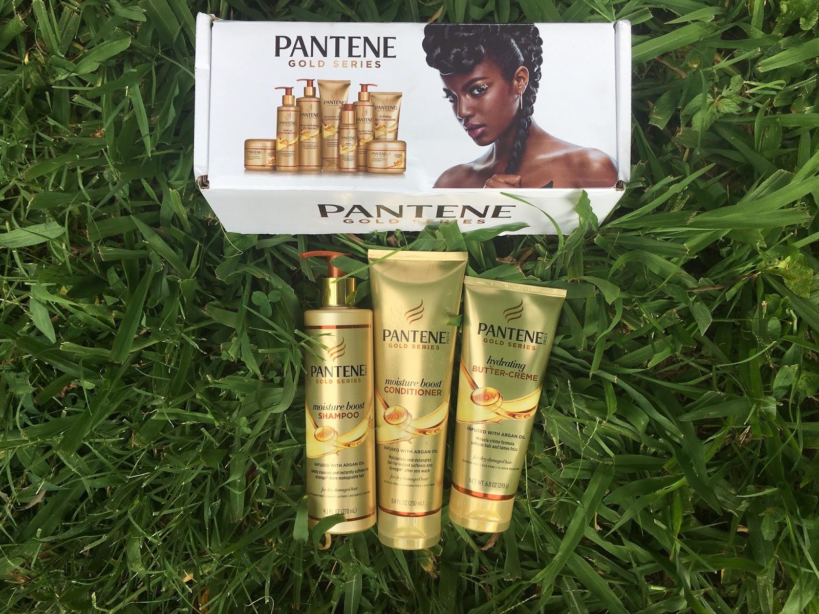 influenster Pantene Gold Series Voxbox