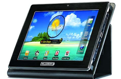 Milagrow TabTop tablet PC latest to enter in Indian Tablet Market