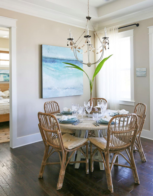 How to Make a Small Dining Room Breakfast Nook Feel Open and Spacious