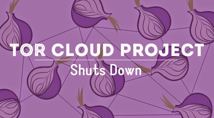 Why Tor Cloud project Shuts Down?