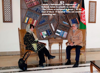 Deborah Lyons - Canadian Ambassador to Afghanistan