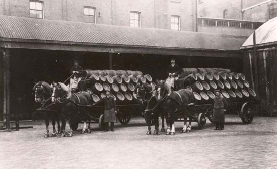 Heineken drays 1900s